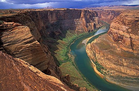 Horseshoe Bend National Military Park, Arizona, United States of America, North America