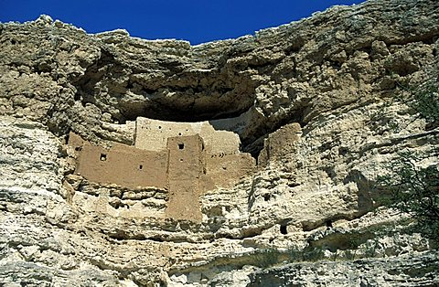 Montezuma castle, Arizona, United States of America, North America