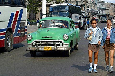 Foreshortening, Havana, Cuba, West Indies, Central America