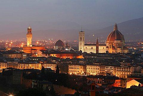 Cityscape, Florence, Tuscany, Italy
