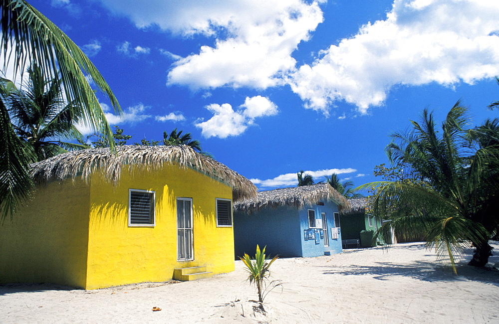 Bungalow, Catalina island, Dominican Republic, West Indies, Central America