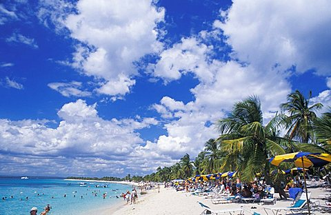 Beach, Catalina island, Dominican Republic, West Indies, Central America