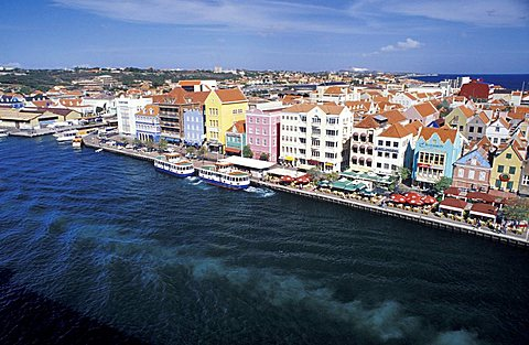 Cityscape, Curaçao, Netherlands Antilles, Caribbean, Central America