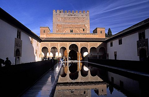 Alhambra, Granada, Autonomous region of Andalusia, Spain, Europe