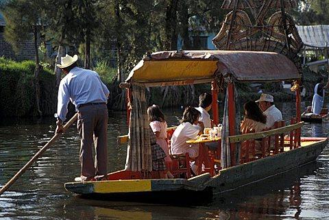 Xochimilco, Mexico City, Mexico, Central  America, America