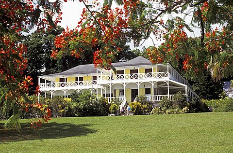 Ottley's Plantation Inn, Saint Kitts and Nevis, Leeward Islands, Caribbean Islands, Central America, Atlantic Ocean