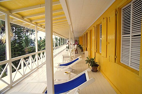 The Golden Lemon Hotel, Saint Kitts and Nevis, Leeward Islands, Caribbean Islands, Central America, Atlantic Ocean