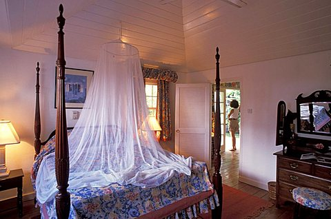Rawlings Plantation's rooms: Saint Kitts and Nevis, Leeward Islands, Caribbean Islands, Central America, Atlantic Ocean