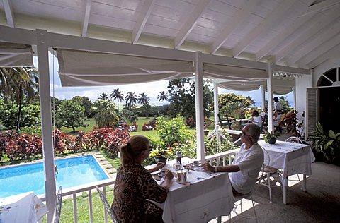 Rawlings Plantation,Saint Kitts and Nevis, Leeward Islands, Caribbean Islands, Central America, Atlantic Ocean