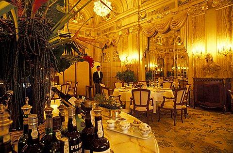 Le Louis XV restaurant, Montecarlo, Principato di Monaco, Europe