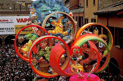 Carnival, Cento, Emilia Romagna, Italy