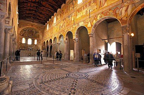 Pomposa abbey, Codigoro, Emilia Romagna, Italy