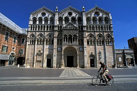 Cathedral, Ferrara, Emilia Romagna, Italy