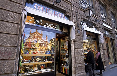 Lorenzi shop, Milan, Lombardy, Italy