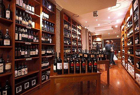 Arcadia wine restaurant, Milan, Lombardy, Italy