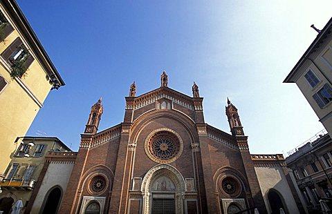 Santa Maria del Carmine church, Milan, Lombardy, Italy