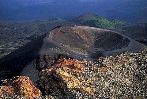 Crateri Silvestri area, Etna volcano, Nicolosi, Sicily, Italy
