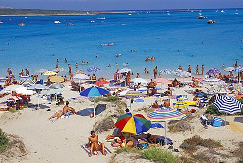 Pelosa beach, Stintino, Sardinia, Italy