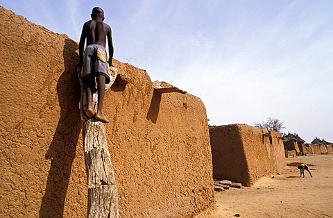 Dogon village of Koundou, Republic of Mali, West Africa, Africa