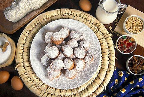 Frittole, Venetian dessert, Veneto, Italy