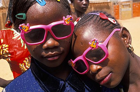 Local children, Republic of Niger, West Africa, Africa