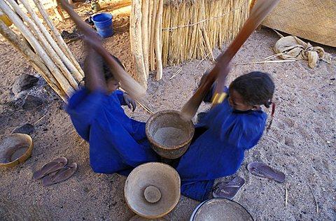 Tuareg children, Republic of Niger, West Africa, Africa