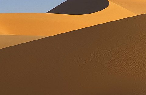 Temet dunes in Tenerè desert, Republic of Niger, West Africa, Africa