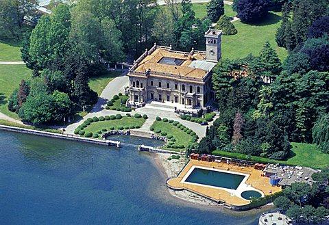 Erba villa, Cernobbio, Como lake, Lombardy, Italy