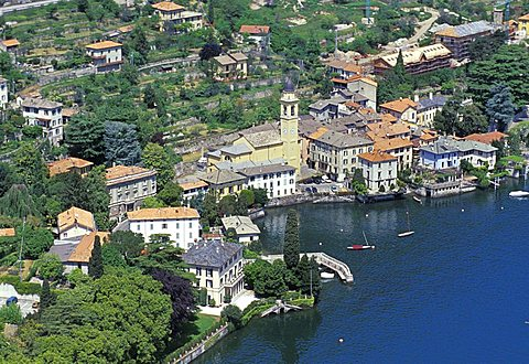 Cityscape, Laglio, Como lake, Lombardy, Italy