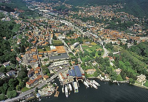 Port, Tavernola, Como lake, Lombardy, Italy