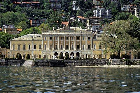 Olmo villa, Como lake, Lombardy, Italy