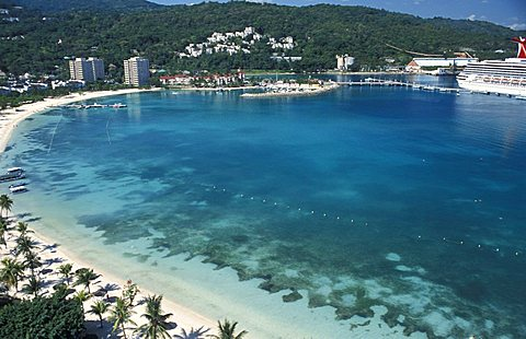 Bay, Ocho Rios, Jamaica, Caribbean, West Indies, Central America