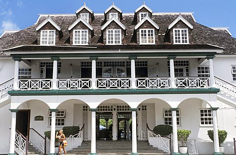 Sandcastles restaurant-hotel, Ocho Rios, Jamaica, Caribbean, West Indies, Central America