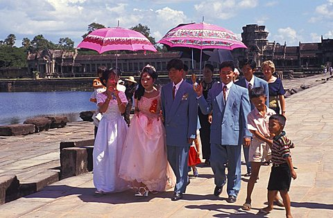 Wedding celebration, Cambodia, Indochina, Southeast Asia, Asia