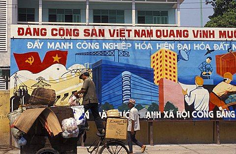 Foreshortening, Saigon, Vietnam, Indochina, Southeast Asia, Asia