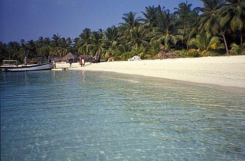 Bangaram island, Laccadive Islands, India, Asia