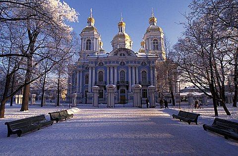 San Nicola cathedral, Saint Petersburg, Russia, Europe