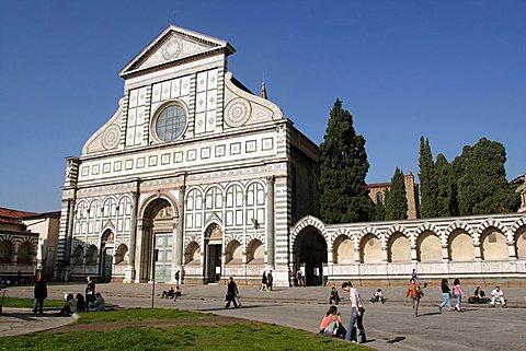 Santa Naria Novella church, Florence, Tuscany, Italy