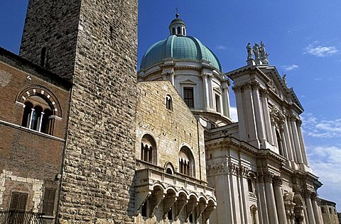 Cathedral, Brescia, Lombardy, Italy.