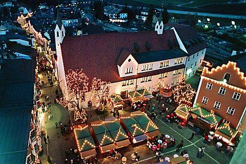 Christmas market, Vipiteno, Trentino Alto Adige, Italy