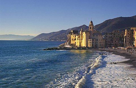 Beach, Camogli, Ligury, Italy