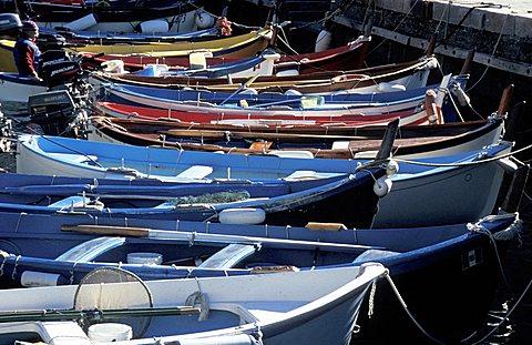 Fishing boat, Vernazza, Ligury, Italy