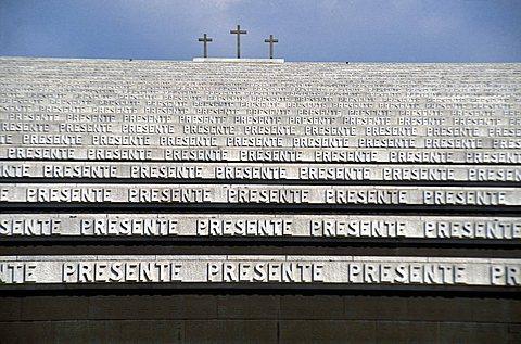 Memorial building, Redipuglia, Friuli Venezia Giulia, Italy