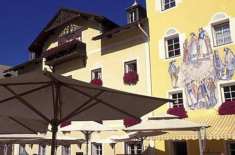 Foreshortening, Ortisei, Trentino Alto Adige, Italy