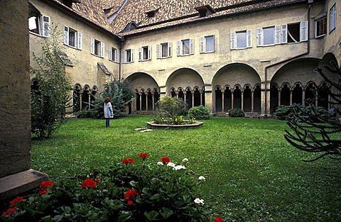 San Francesco cloister, Bolzano, Trentino Alto Adige, Italy