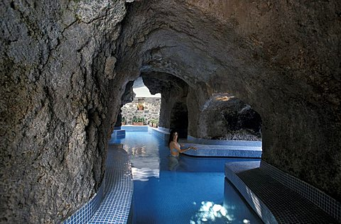 Negombo thermal resort, Ischia, Campania, Italy