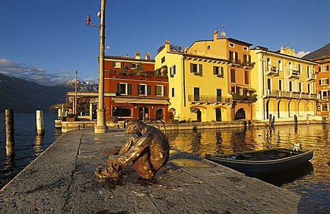 Port, Malcesine, Veneto, Italy