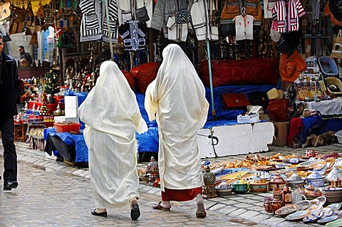 Souk, Sidi Bou Said, Tunisia, North Africa, Africa