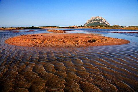 Landscape, Tavolara island, Loiri Porto San Paolo, Sardinia, Italy, Mediterranean, Europe