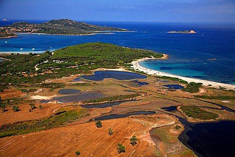 Stagno di San Teodoro moist area, Sardinia, Italy, Mediterranean, Europe